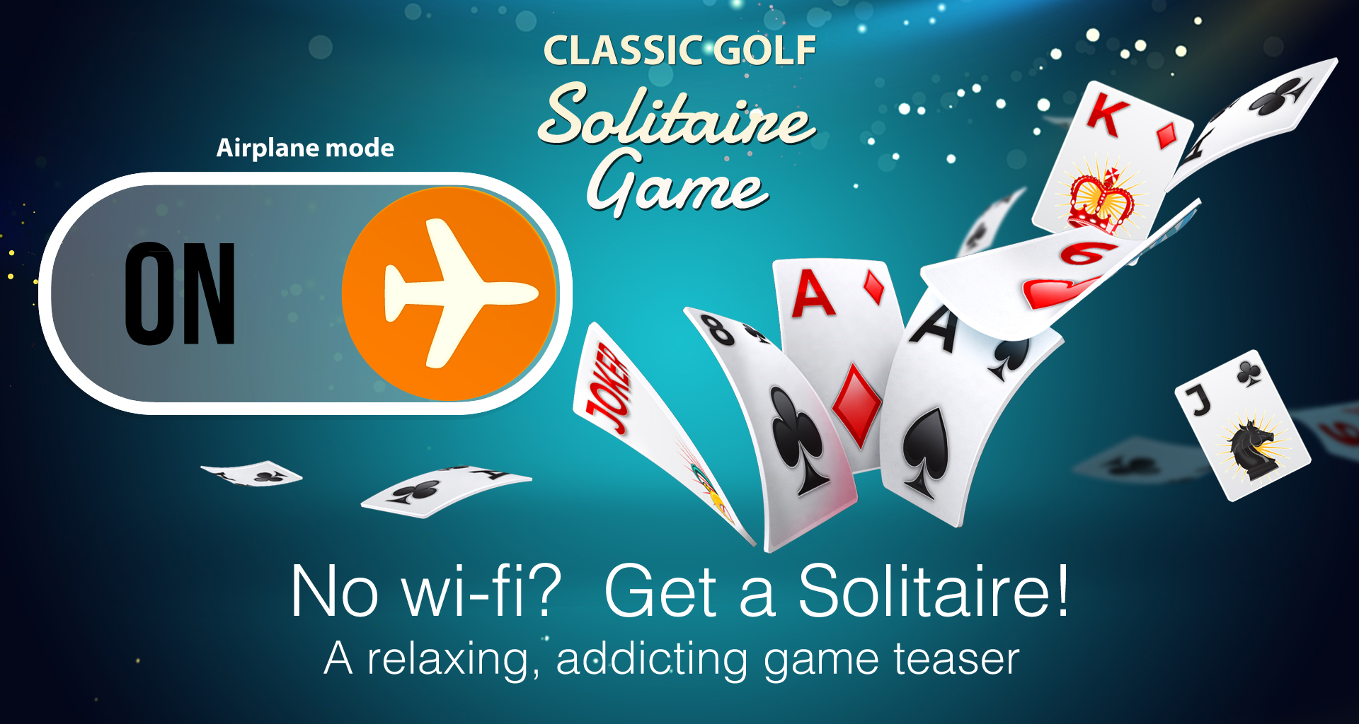 Solitaire banner